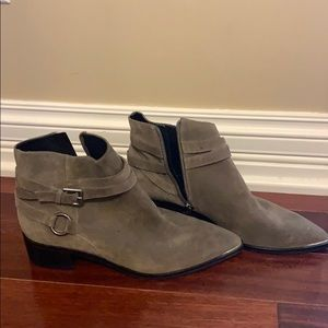 New Marc Fisher Yatina Suede Bootie 9